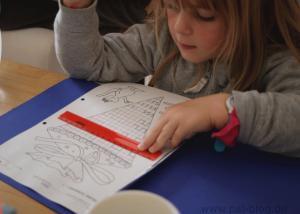 Zoe's erster Schultag