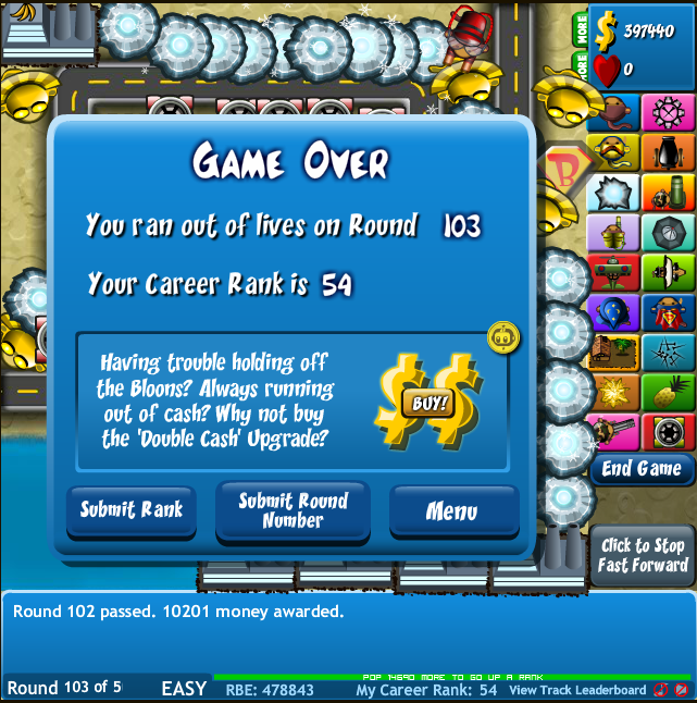 Bloons Tower Defence 4 Hacked Full Version download free ...